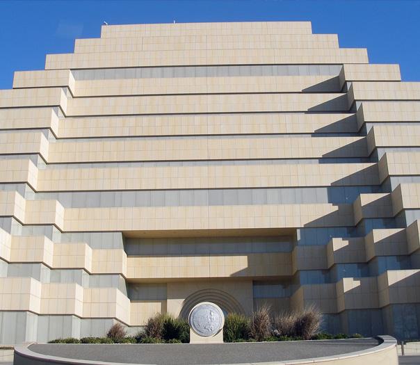Ziggurat Building